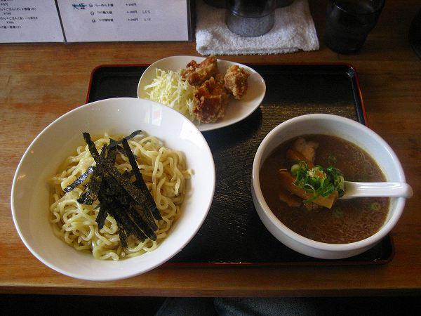 7.あっさりつけ麺(大盛)+からあげ(小).jpg