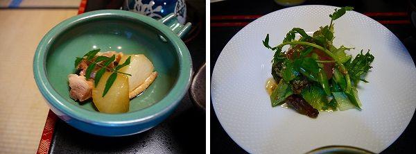 朝‐3.鶏肉と大根の煮物+信州野菜のサラダ.jpg